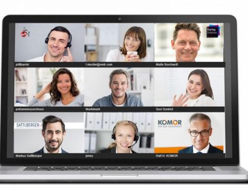 Videokonferenzen und Vorstellungsgespräche