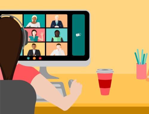 Optimale Wirkung bei Videokonferenzen
