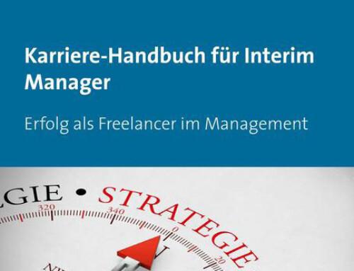 Soeben erschienen: Das Karriere-Handbuch für Interim Manager